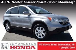 2007 Honda CR-V EX-L - 4WD 4WD! Heated Leather Seats! Power Moon