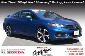 2015 Honda Civic Coupe Si New Tires! i-VTEC - 205hp! Navigation!