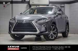 2016 Lexus RX 350 LUXE AWD; CUIR TOIT GPS LOW MILEAGE - GPS - BL