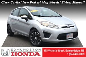 2013 Ford Fiesta S LOW PRICE! Clean Carfax! New Brakes! Hatchbac
