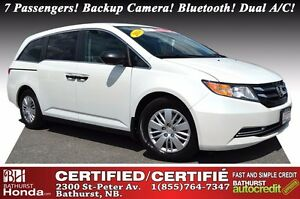 2014 Honda Odyssey LX 7 Passengers! Backup Camera! Bluetooth! Du