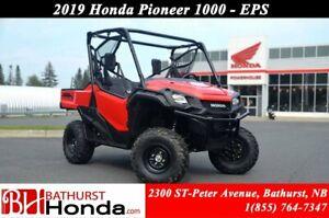 2019 Honda Pioneer 1000 3 seats