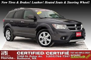 2014 Dodge Journey R/T - AWD New Tires & Brakes! AWD! Leather! H