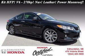 2013 Honda Accord Coupe EX-L w/Navi - V6 Kit HFP! V6 - 278hp! Na