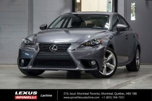 2014 Lexus IS 350 EXECUTIF AWD; CUIR TOIT GPS AUDIO GPS - BLIND