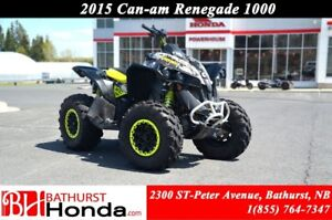 2015 Can-Am Renegade 1000 Fox Suspension!