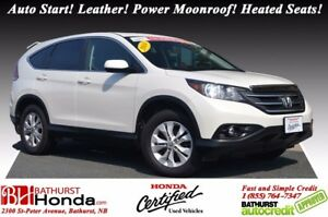 2014 Honda CR-V EX-L Auto Start! Leather! Power Moonroof! Heated