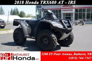 2018 Honda TRX680 Rincon IRS Fully Automatic! Independent Rear S