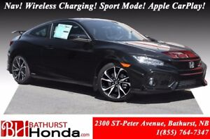 2017 Honda Civic Coupe SI 205hp! Nav! Sport Mode Button! Helical