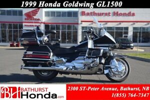 1999 Honda Gold Wing GL 1500 Cruise Control!