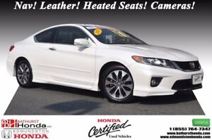 2015 Honda Accord Coupe EX-L w/Navi Nav! Leather! Heated Seats!