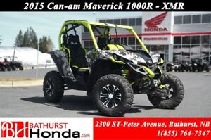 2015 Can-Am MAVERICK 1000R - XMR Fox Suspension!