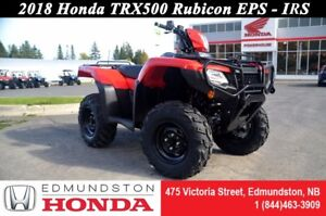 2018 Honda TRX500 Rubicon IRS EPS Manual Foot Shift! Independent