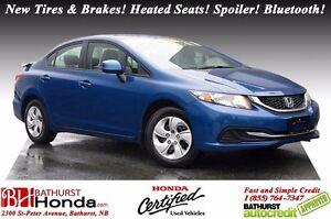2013 Honda Civic Sedan LX Honda Certified! New Tires & Brakes! H