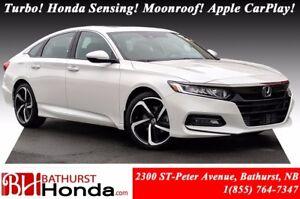 2018 Honda Accord Sedan SPORT Power Moonroof! Heated Seats! Hond