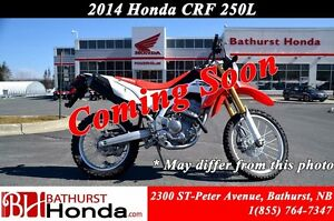 2014 Honda CRF250L Mirroirs! Excellent stability and agility!!