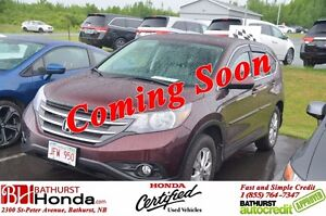 2014 Honda CR-V Ex-L - AWD Leather! Power Moonroof! Heated Seats