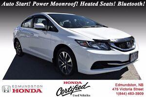 2013 Honda Civic Sedan EX Honda Certified! Auto Start! Power Moo