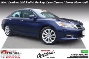 2015 Honda Accord Sedan TOURING Honda Certified! Nav! Leather! X