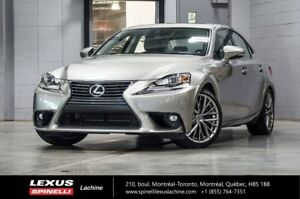 2016 Lexus IS 300 LUXE AWD; CUIR TOIT GPS ANGLES MORTS GPS - BLI