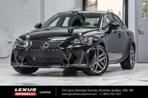 2018 Lexus IS 350 350 F SPORT III AWD; AUDIO TOIT GPS LSS+ $2,24
