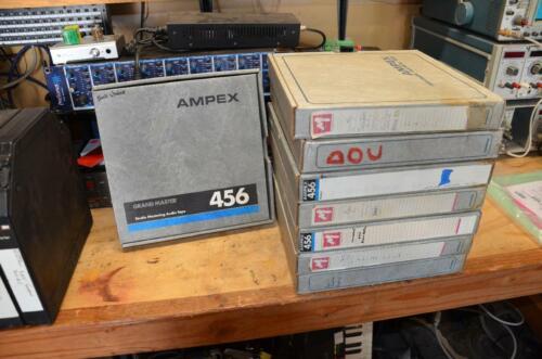 """Ampex 456 1"""" reels"""