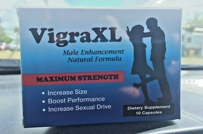 VigraXL Male enhancement Natural formula increase size sexual sexo hombre pene