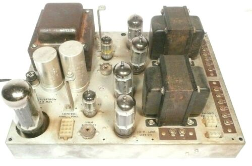ROWE JAL / JEL / JBM part: Working STEREO AMPLIFIER R-2620-A w/ some new caps