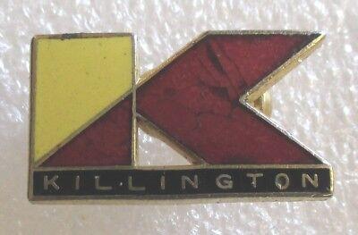 Vintage Killington Ski Resort VT Skiing Souvenir Collector Pin-Vermont