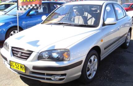 2004 Hyundai Elantra Sedan Armidale City Preview