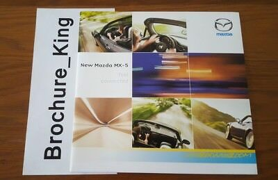 NEW Mazda MX-5 June 2005 1.8 2.0 MZR Sport Range pre launch poster Brochure