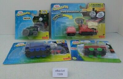 (Lot T209) Thomas & Friends Adventures Dino Discovery James Trevor Belle & Percy