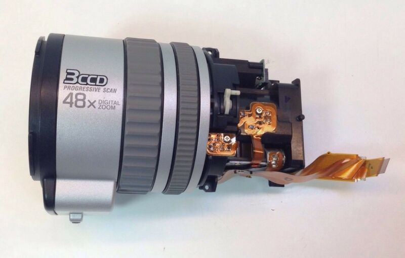 Sony VX2000 VX-2000 Replacement Part Lens Block With VAP USED