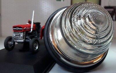 Mf Massey Ferguson 135 165 175 178 Genuine Lucas L594 Sidelight Glass Lens Unit