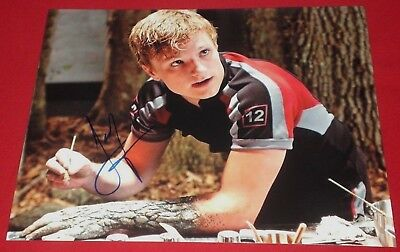 Josh Hutcherson Signed Hunger Games Tribute Training Still Photo Autograph Coa