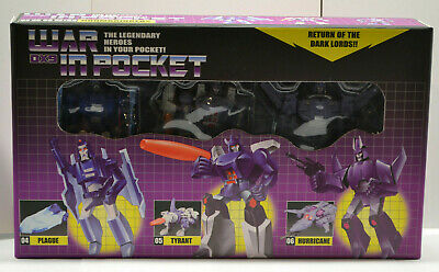 NEW 3rd Party Transformers DX-9 War In Pocket DOOMBRINGERS Set of 3