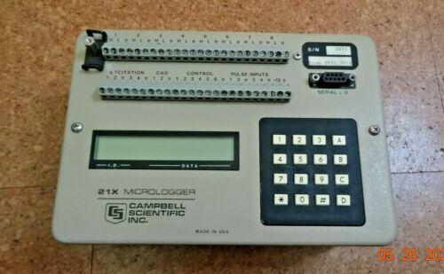 Campbell Scientific CR21X 21X Datalogger