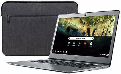 "Acer 14"" ComfyView Chromebook Intel Quad 32GB SSD 4GB RAM LED Backlight + Sleeve"