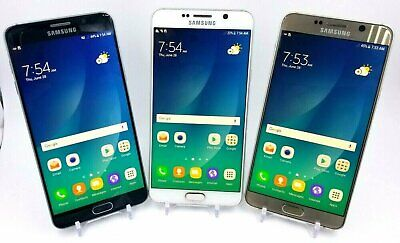 Samsung Galaxy Note 5 SM-N920 - 32GB - Verizon / AT&T / T-mobile - Acceptable