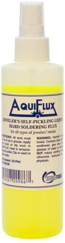 Aquiflux Self Pickling Flux Gold Silver Jewelry Hard Soldering 1/2 Pint - 8oz