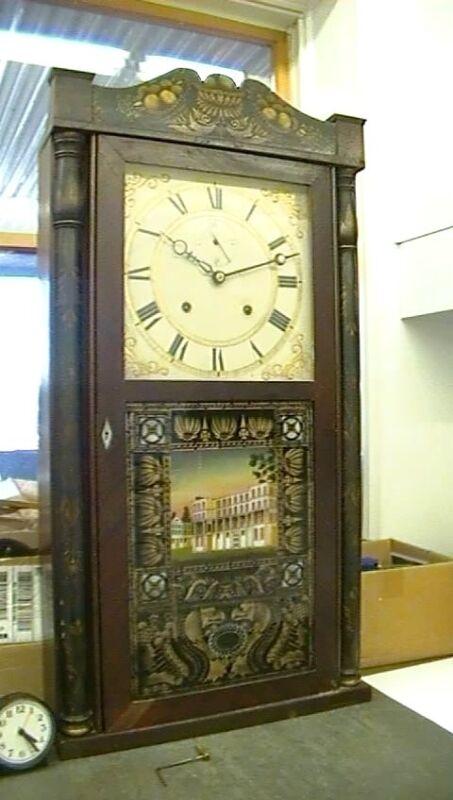 Clock Repair DVD Video - Eli Terry 8 Day Wooden Movement Clock Repair Video