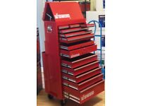 MCANAX 3 TIER TOOL CHEST ROLLER CABINET TOP MIDDLE BOTTOM BOX DEAL TREASURE CHEST SET