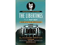 **LESS THAN FACE VALUE** 2 x Libertines tickets 7th September Brixton