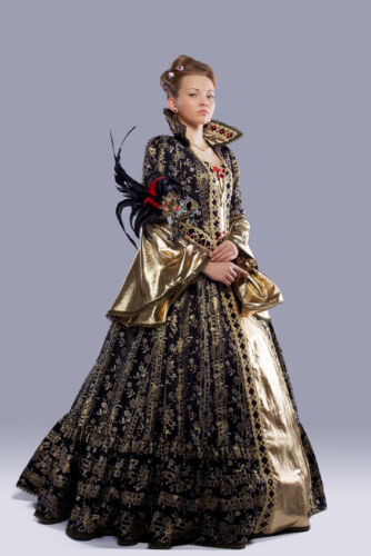 Kings, Queens, and Noble Costumes