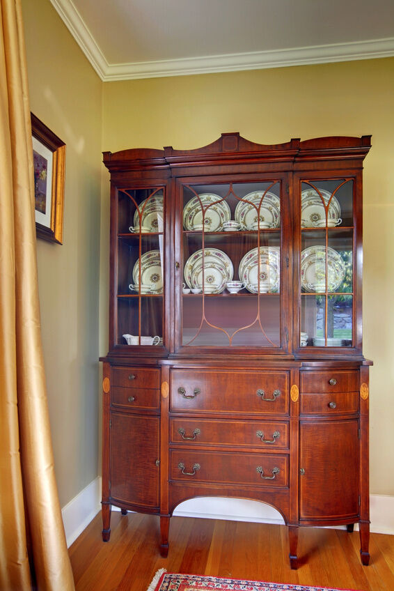 An antique hutch is a wonderful addition to any kitchen when decorators  want to showcase history from the 1800s and early 1900s. The hutch is a  large piece ... - Top 5 Pieces Of Antique Kitchen Furniture EBay