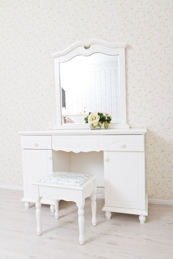 How to fix a chipped or cracked dressing table mirror ebay for Thin dressing table