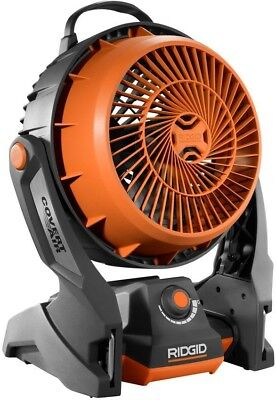 RIDGID Hybrid Fan GEN5X 18-Volt  - Rubber Handle Variable Sp