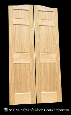 CAFE DOOR PINE RAISED 6-PANEL 24