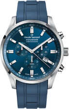 Claude Bernard By Edox Aquarider Men's Watch 10222.3CABU.BUIN1 Chronograph