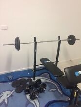 GUY LEECH GYM BENCH - NEAR NEW CONDITION - BARGAIN Hope Island Gold Coast North Preview